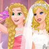 play Enjoy Barbie'S Wedding Selfie With Princesses