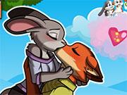 play Nick And Judy Kissing