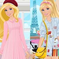 play Barbie Paris Vs New York