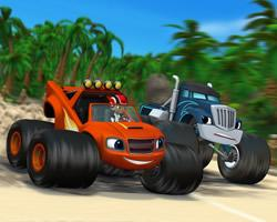 play Blaze Monster Truck Differences
