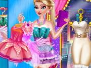 play Elsa Fairy Party Dress Up