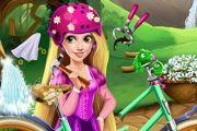 Rapunzel'S Bicycle Game game