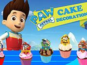 play Paw Patrol Cake Decoration