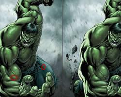 The Hulk Differences game