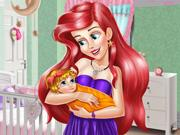 Ariel Baby Room Deco game