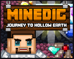 Minedig Journey To Hollow Earth game