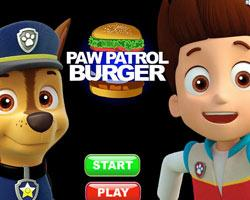 Paw Patrol Burger game