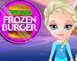 Frozen Burger Cooking game