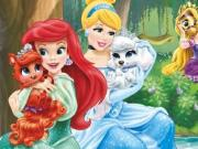 Disney Princesses Castle Fun game