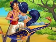 play Jasmine And Aladdin Kissing
