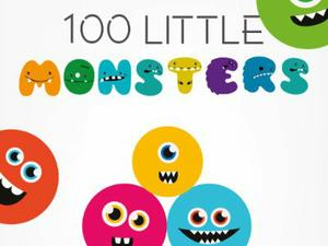100 Little Monsters game