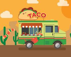 Street Food Truck Jigsaw game