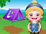 Baby Hazel Summer Camp game