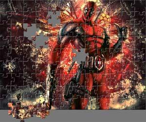 Play Deadpool Jigsaw Game