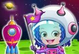 play Baby Hazel Astronaut Dressup