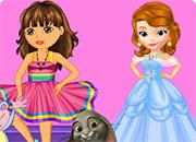 Dora And Sofia Beauty Contest game