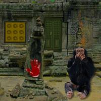 play Monkey Temple Escape