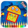 play Robot Coloring Book - Drawing And Painting Colorful For Kids Free