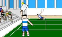 Ragdoll Tennis game