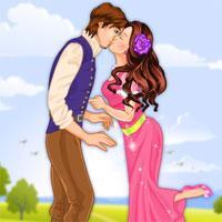 play Princess Kiss Girls