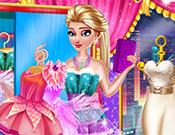 Elsa Fairy Party Dress Up game