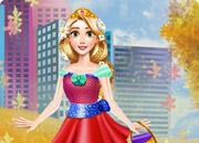play Fall Princess Outfit
