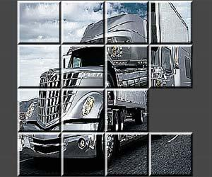 Refrigerated Truck Jigsaw game