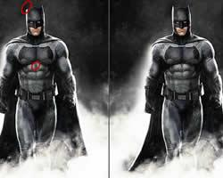 Batman Differences game