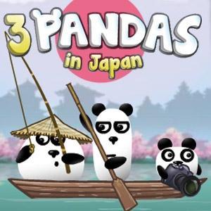 3 Pandas In Japan game