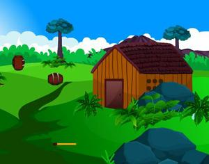 play Escapezone Girl Rescue From Garden House