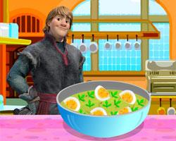 Kristoff Makes Spicy Eggs game