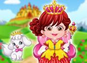 play Baby Hazel Royal Princess Dressup