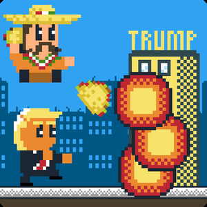 Taco Trump Down game
