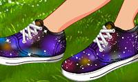 Diy: Galaxy Shoes game