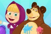 Masha And The Bear Summer Fun Game game