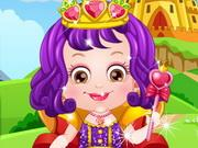 play Baby Hazel Royal Princess Dressup