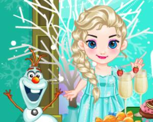 Baby Frozen Winter Party game