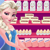 play Elsa Wedding Cake Cooking