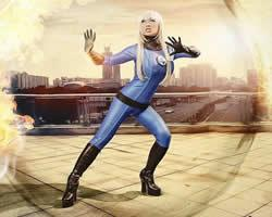 Invisible Woman Jigsaw game