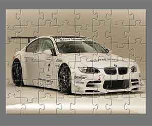 Bmw M3 Coupe Jigsaw game