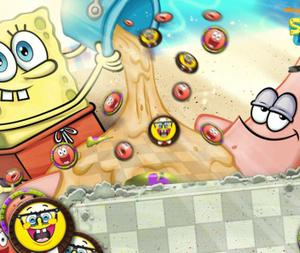 Bikini Bottom Checkers game