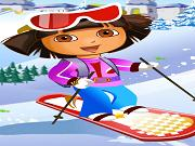 Dora Ski Jump game