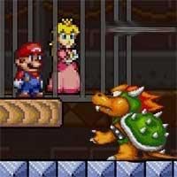 Super Mario Save Peach game