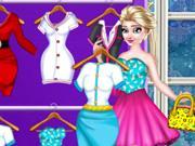play Elsa Closet Dressup