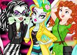 play Monster High Vs. Disney Princesses Instagram Challenge