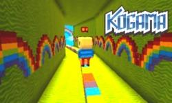 Kogama: Rainbow Parkour game