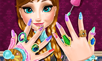 Ice Princess: Nails Spa game