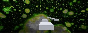 Space Jump Green World 4 game