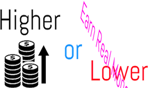 Higher Or Lower game