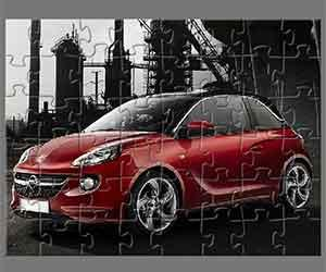 Opel Adam Jigsaw game
